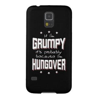 GRUÑÓN porque es HUNGOVER (negro) Carcasa Galaxy S5