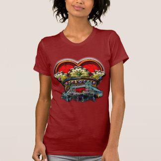 Grupo de la corona del corazón de Londres Camiseta