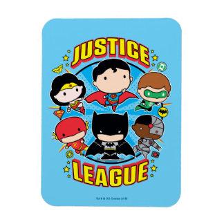 Grupo de la liga de justicia de Chibi Iman