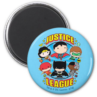 Grupo de la liga de justicia de Chibi Imanes