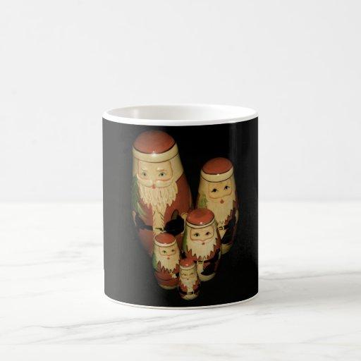 Grupo de la taza de la Navidad del padre