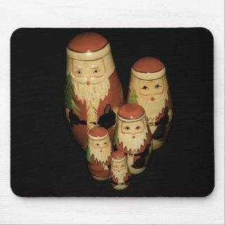 Grupo de Mousepad de la Navidad del padre Tapetes De Ratones