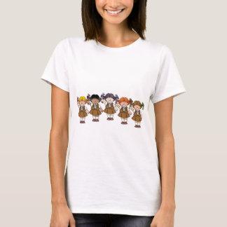 Grupo del brownie camiseta