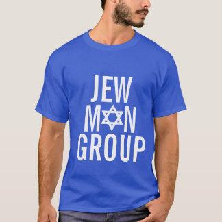 Grupo del hombre del judío camiseta