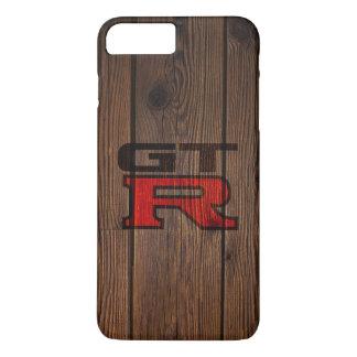 GT-r simulada de madera Funda Para iPhone 8 Plus/7 Plus