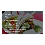 Guacamole del Tacos de Carne Asada Plantilla De Tarjeta Personal