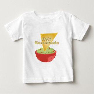 Guacamole santo camiseta de bebé