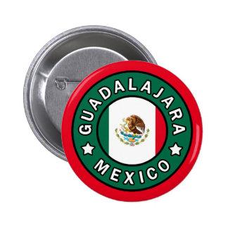 Guadalajara México Chapa Redonda De 5 Cm