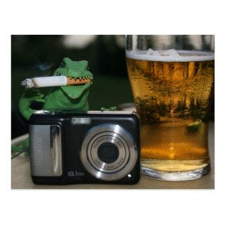 Gualterio: Cerveza, Cig, postal de la cámara