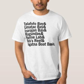 GUAM CORRE 671 puntos de la resaca - blanco Camisas