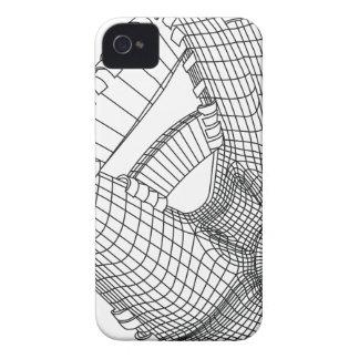 guante de béisbol carcasa para iPhone 4
