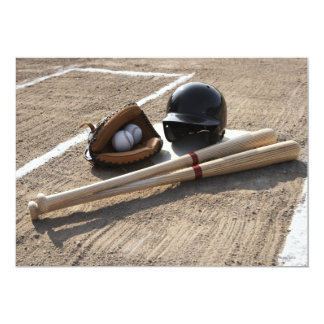 Guante de béisbol invitación 12,7 x 17,8 cm