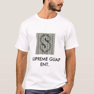 guap, GUAP SUPREMO ENT. Camiseta