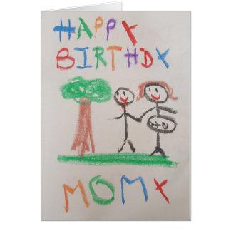 Guapas de Thomas - tarjeta de Momy del feliz