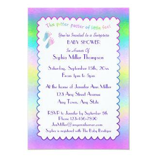 Guapas minúsculas invitación 12,7 x 17,8 cm