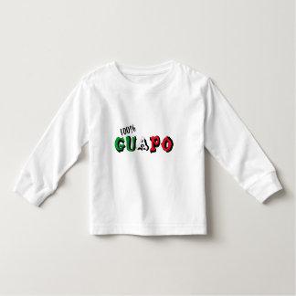 Guapo 100% camiseta de bebé