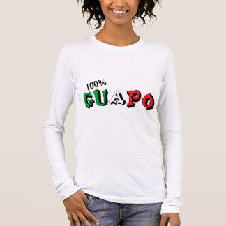 Guapo 100% camiseta de manga larga