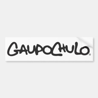 GUAPO CHULO® PEGATINA PARA COCHE