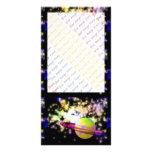 Guarda de la galaxia tarjeta fotográfica personalizada