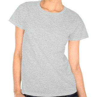 Guardabosques - gama en blanco del punto camiseta