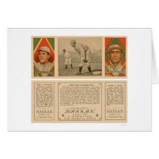 Guardar el primer béisbol 1912 de Red Sox Tarjeta