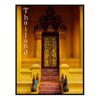 Guardas de la entrada del templo, Tailandia Postal