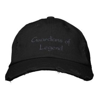 Guardas de la leyenda gorra de béisbol