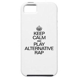 GUARDE A LA GENTE DE LA CALMA Y DE LA ALTERNATIVA iPhone 5 PROTECTOR