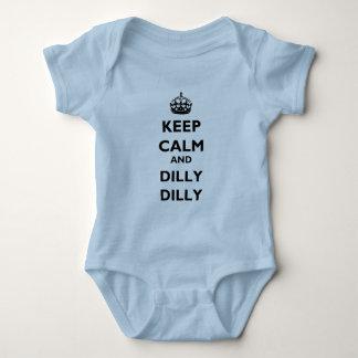 Guarde a Lt Bodysuit del jersey del bebé del