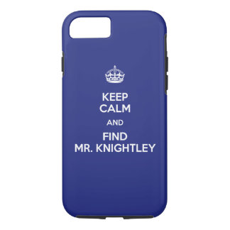 Guarde a Sr. tranquilo Knightley Emma Jane Austen Funda iPhone 7