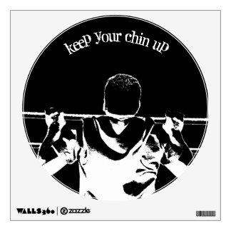 Guarde a su Chin para arriba