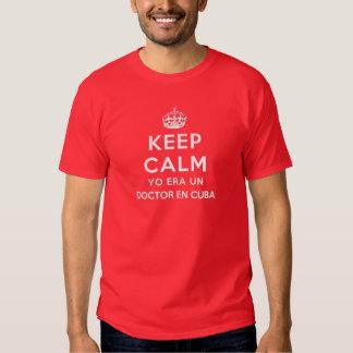 Guarde al doctor tranquilo En Cuba de la O.N.U de Camisas