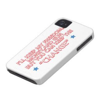 Guarde el cambio Case-Mate iPhone 4 protectores