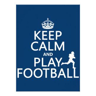Guarde el fútbol de la calma y del juego el color comunicado
