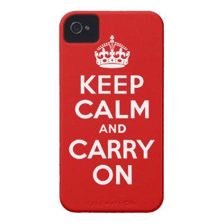 Guarde el iPhone tranquilo 4 de Barely There iPhone 4 Fundas