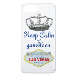 Guarde el juego tranquilo en Las Vegas Funda iPhone 7 Plus