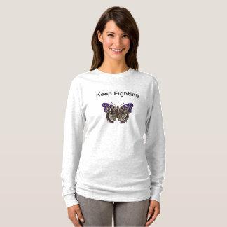 Guarde el luchar de la camisa del Fibromyalgia