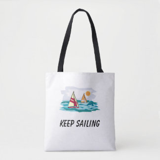 Guarde el navegar de la bolsa de asas de la playa