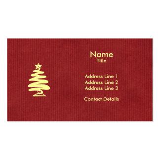 Guarde el navidad tranquilo del estilo el saludar tarjetas de visita
