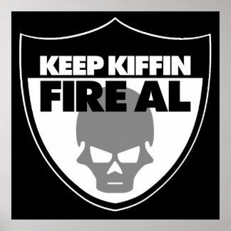 Guarde el poster Alt. del Al del fuego de Kiffin