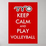 Guarde el poster de los deportes de la calma y de
