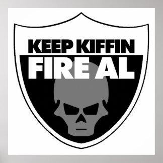 Guarde el poster del Al del fuego de Kiffin