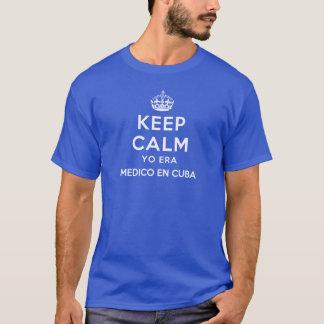 Guarde En tranquilo Cuba del apodo a los Camiseta