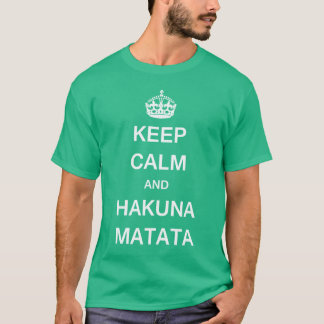 Guarde KCCO tranquilo Camiseta