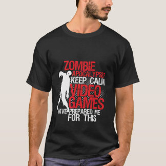 Guarde la apocalipsis divertida tranquila del camiseta