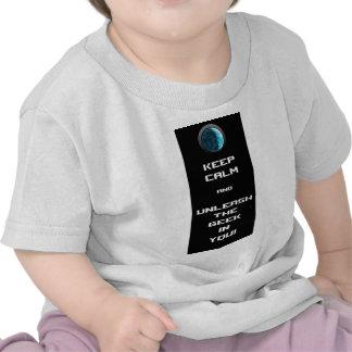 Guarde la calma 2 camisetas