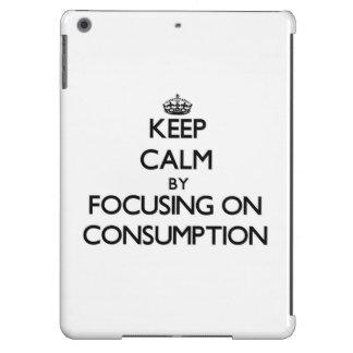 Guarde la calma centrándose en el consumo
