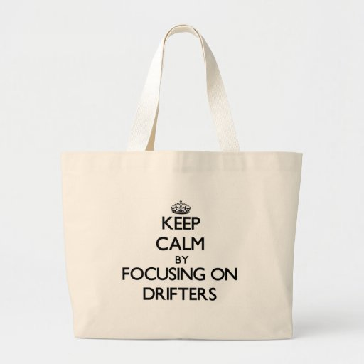 Guarde la calma centrándose en las traineras bolsa de mano