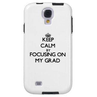 Guarde la calma centrándose en mi graduado