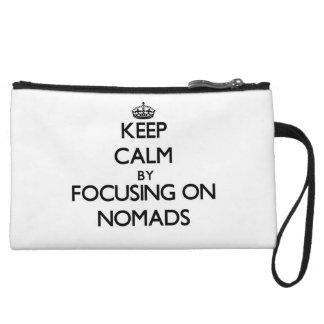Guarde la calma centrándose en nómadas